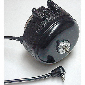 1/85 HP Unit Bearing Motor, Shaded Pole, 1550 Nameplate RPM,115 Voltage, Frame Non-Standard