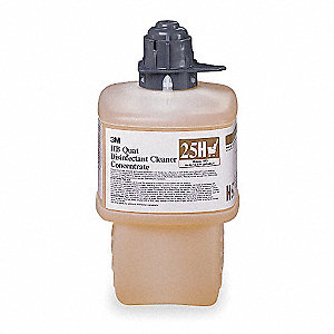 HB Quat Disinfecting Cleaner, For Use With 3M  Twist 'n Fill  Chemical Dispenser, 1 EA