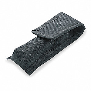 Black Nylon Holster, For Use With TL-2 LED Series, Night Com, TT-2L, Buckmasters TT-2L, PolyTac, Pol
