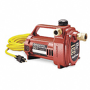 "1/2 HP Utility Pump, 115 Voltage, 3/4"" GHT Inlet, 3/4"" GHT Outlet"