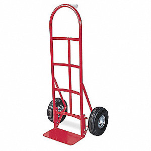 Stair Climbing Hand Truck, Continuous Frame Single Pin, 650 lb., Overall Width 22-1/2""
