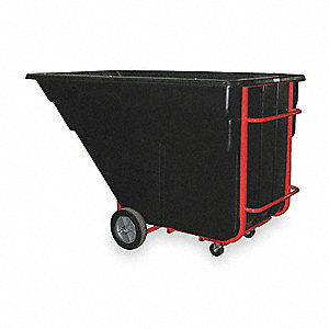 Tilt Truck, 2 cu. yd. Volume Capacity, 2300 lb. Load Capacity, Heavy-Duty Hopper Type