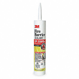 Fire Barrier Sealant,10.1 oz.,Red-Brown