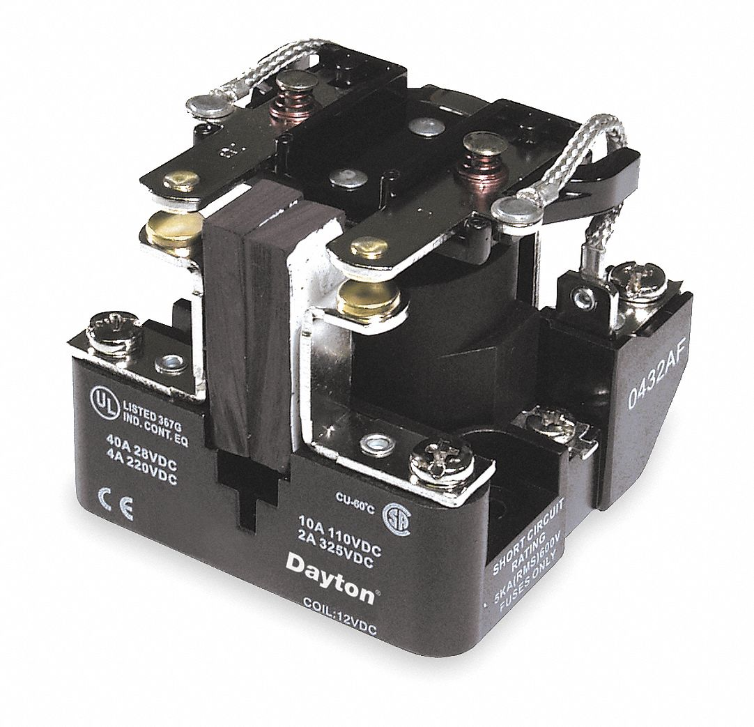 dayton 120vac 8 pin surface open power relay electrical. Black Bedroom Furniture Sets. Home Design Ideas