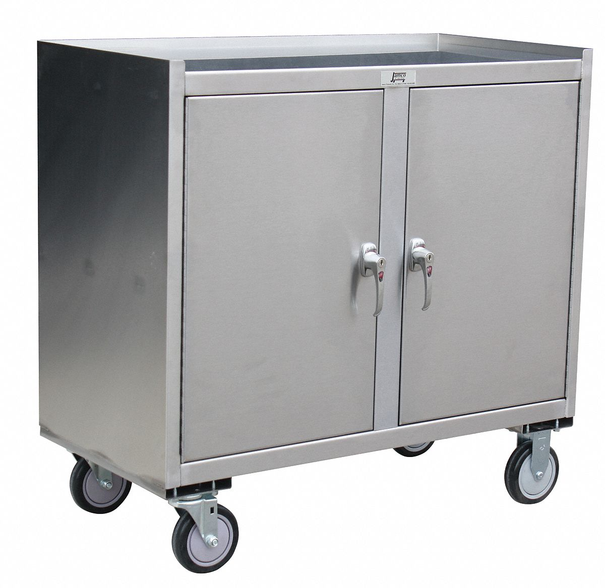 Jamco Mobile Cabinet Workbench Stainless Steel 21 Quot Depth