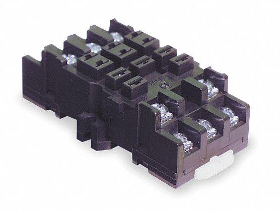Dayton Relay Socket Socket Type Standard Socket Style: 12 ... on