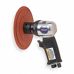 Air Random Orbital Sander,0.5HP,3 In.