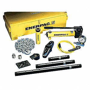 "Hydraulic Maintenance Set, 25 Ton Tonnage Capacity, 6-1/4"" Stroke Length"