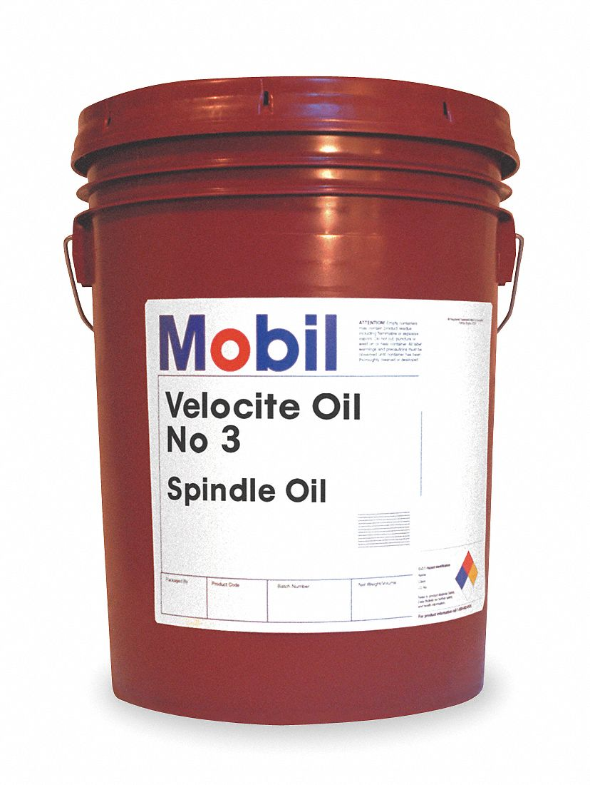 Mobil Liquid Spindle Bearing Oil Base Oil Mineral 5