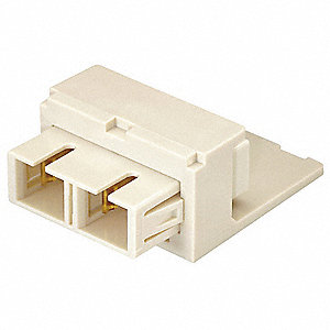 Adapter,Duplex SC Fiber,Black