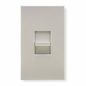 Lighting Dimmer, Slide, Fluorescent Lamp Type, 1-Pole Switch Type