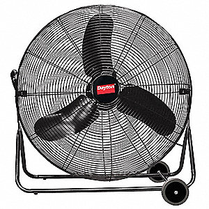 "30"" Commercial Mobile Non-Oscillating Quiet Design Air Circulator"
