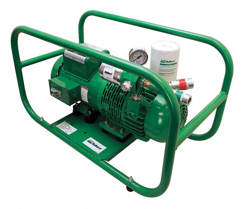 Bullard Ambient Air Pump 5 Psi 6ah13 Edp16te Grainger