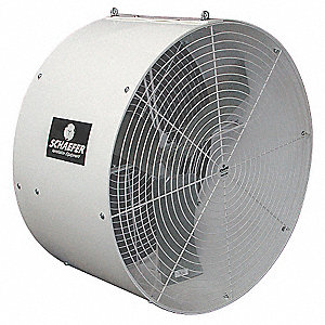 "36"" Industrial Ceiling-Mounted Non-Oscillating Air Circulator"