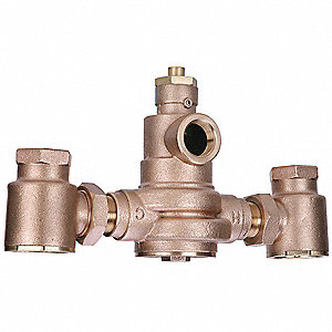 Mixing Valve,Brass,7 to 167 gpm