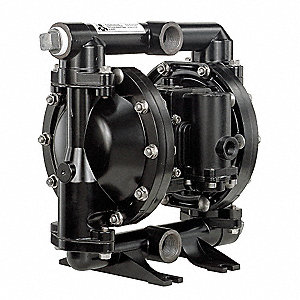 Aluminum Santoprene® Multiport Double Diaphragm Pump, 52 gpm, 120 psi