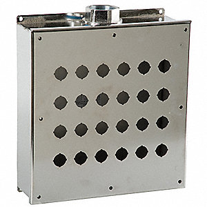 Pushbutton Enclosure, 4X NEMA Rating, Number of Columns: 6