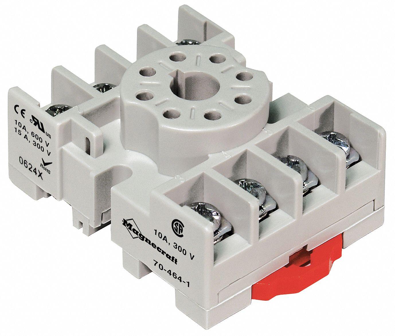 SCHNEIDER ELECTRIC Relay Socket  Socket Type  Standard