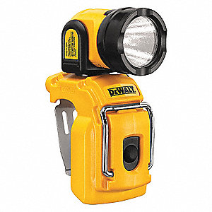 Rechargable Worklight,Yellow,LED,130 L