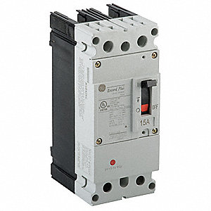 Circuit Breaker,  45 Amps,  Number of Poles:  2,  347/600VAC AC Voltage Rating