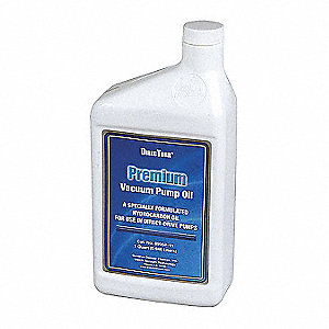 Vacuum Pump Oil, 1 qt. Container Size