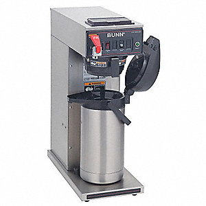 Single Airpot Coffee Brewer,3.8 gal/hr