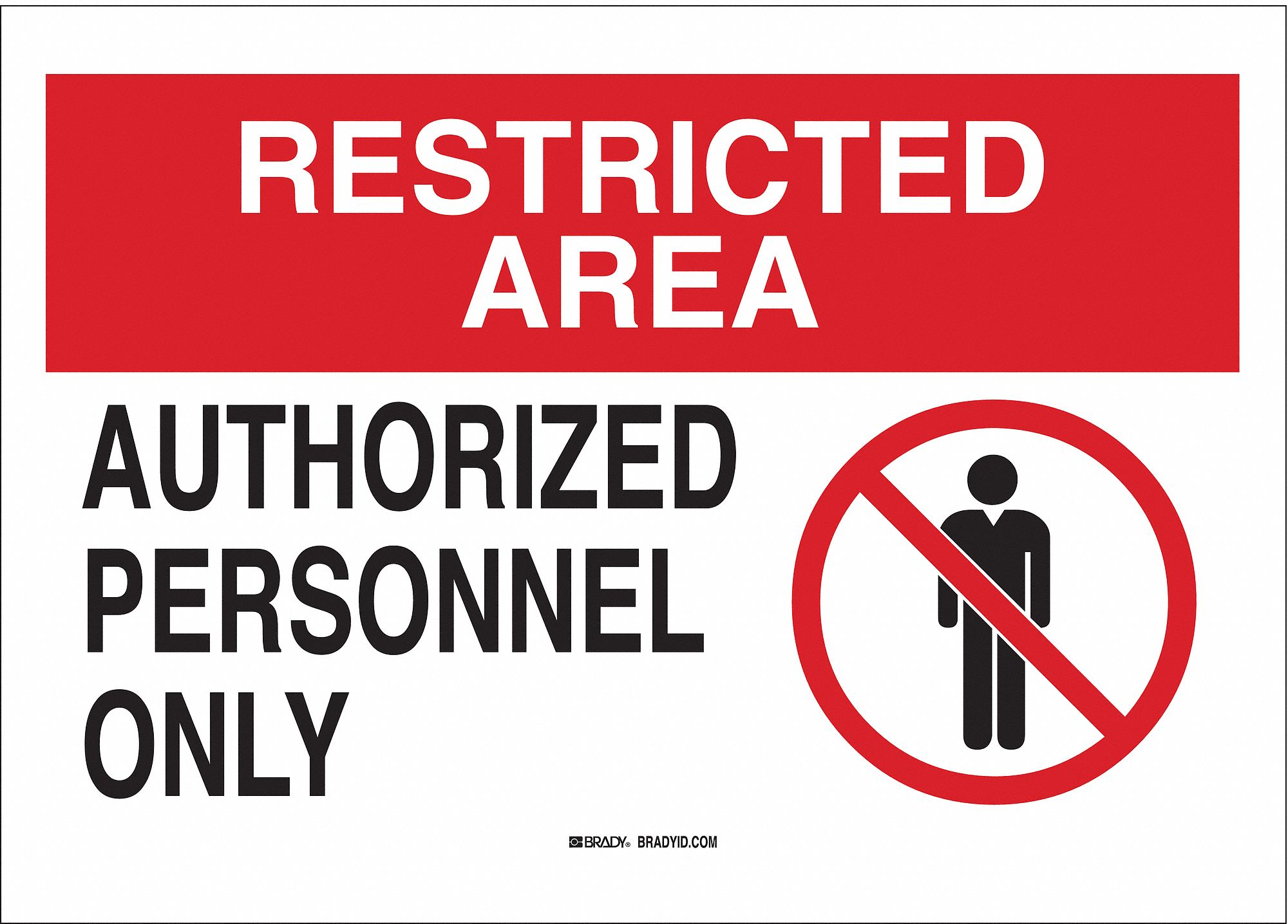 It's just a photo of Priceless Authorized Personnel Only Sign Printable