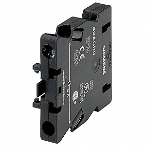 Auxiliary Contact, 25 to 60 Amps, Definite Purpose Type, Side Mounting