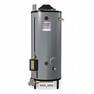 Rheem Ruud Commercial Gas Water Heater 65 0 Gal Tank