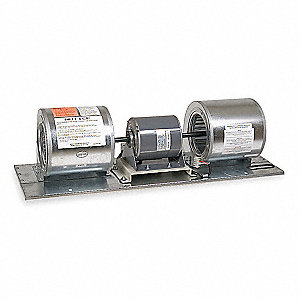 Air Curtain Blower Assembly, Motor HP 1/2, 3800 fpm, Max. RPM 1745, Max. Amps 5.2