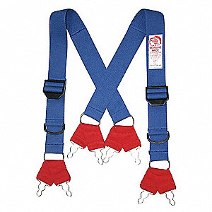 Fire Fighting Pant Suspenders,44 In. L