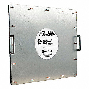 Duct Access Door, UL Rated, 23 x 19
