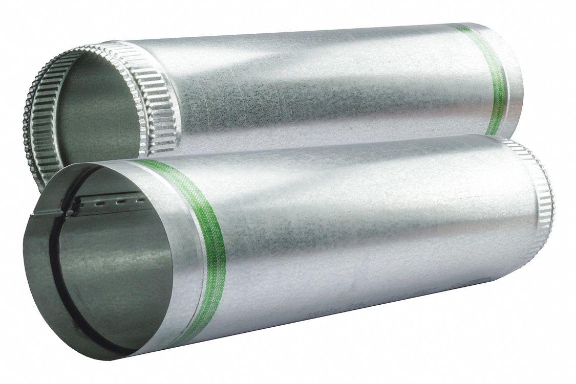 Greenseam galvanized steel snap lock pipe quot duct
