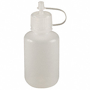 250mL/8 oz. Dropper Bottle, Low Density Polyethylene, PK 6