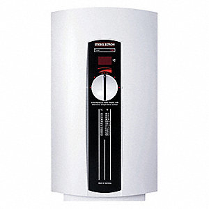 Electric Tankless Water Heater, Undersink, Point-of-Use, 7200/9600 Watts, 50 Amps AC
