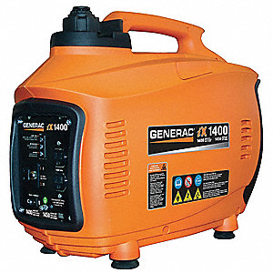 Portable Inverter Generator, 120 Voltage, 1400 Rated Watts, 1450 Surge Watts, 11.6/NA Amps @ 120/240