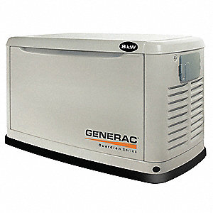 Automatic Standby Generator,8 LP/7 NG kW