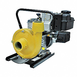5.5 HP Cast Iron 205cc Engine Driven Centrifugal Pump, 2.9 qt. Tank Capacity
