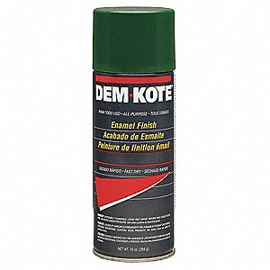 Green (Matches John Deere) Spray Paint, Gloss Finish, 10 oz.