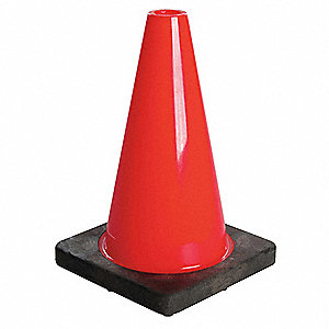 Fluorescent Red/Orange Traffic Cone
