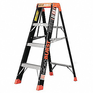 4 ft. 375 lb. Load Capacity Fiberglass Stepladder