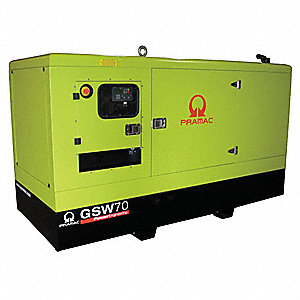Liquid Engine Cooling, 277/480VAC Voltage, Engine Size: 4.4L, 83.9 kVA Rating, 3 Phase