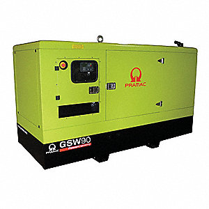 Liquid Engine Cooling, 120/240VAC Voltage, Engine Size: 3.3L, 68 kVA Rating, 1 Phase