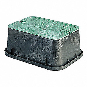 Extension Valve Box,HDPE,12 In