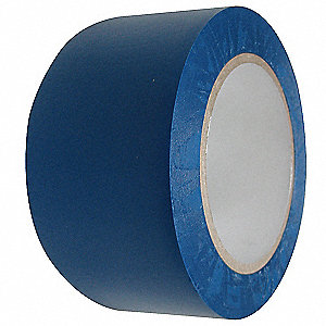 "Safety Warning Tape, Solid, Roll, 2"" x 108 ft., 1 EA"