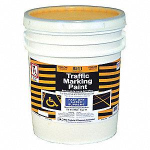 Latex butyl rubber traffic paint