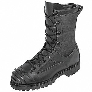 Men's Insulated Technical Rescue Boots, Size 9, Footwear Width: N, Footwear Closure Type: Lace Up