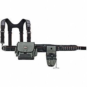 Installer Tool Belt w/Suspenders,Xlarge