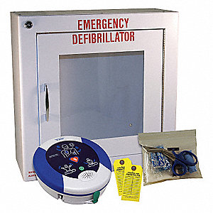 Automated External Defibrillator,8 In. H