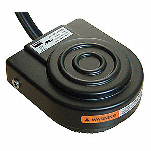 General Purpose Foot Switch, SPDT-NO Contact Form, 125/250VAC Voltage Rating, 1 NEMA Rating